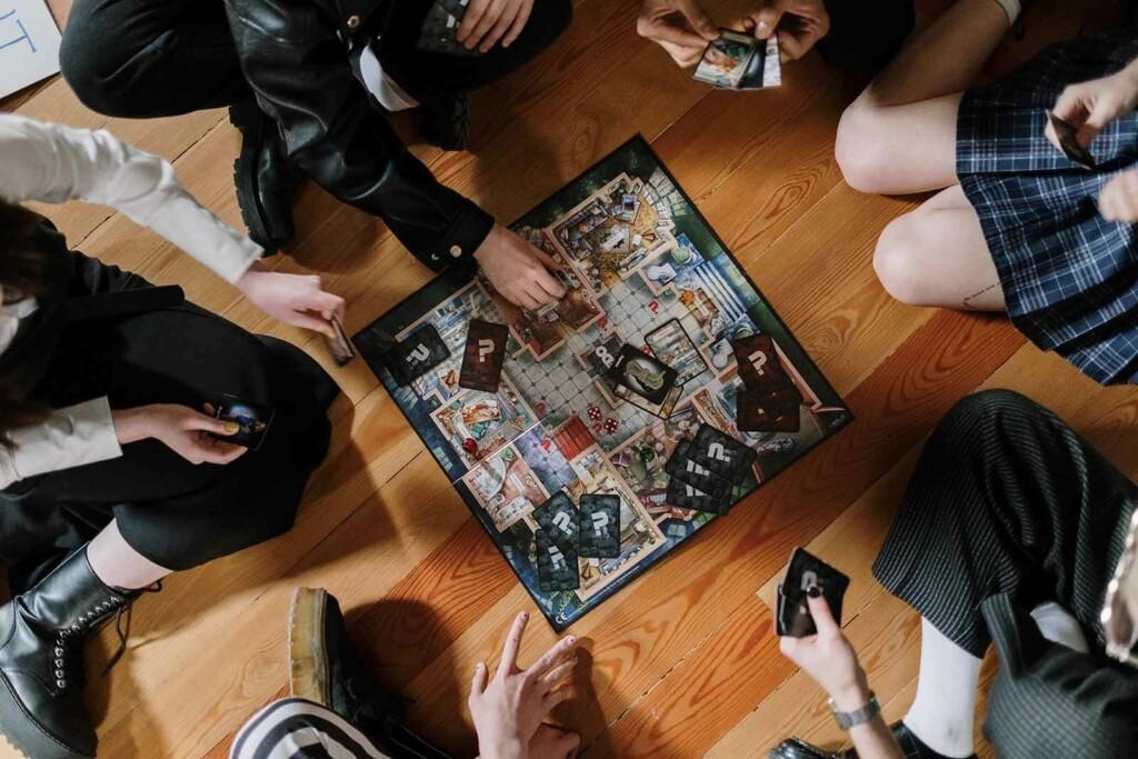 Ein beliebtes Gesellschaftsspiel ist Cluedo