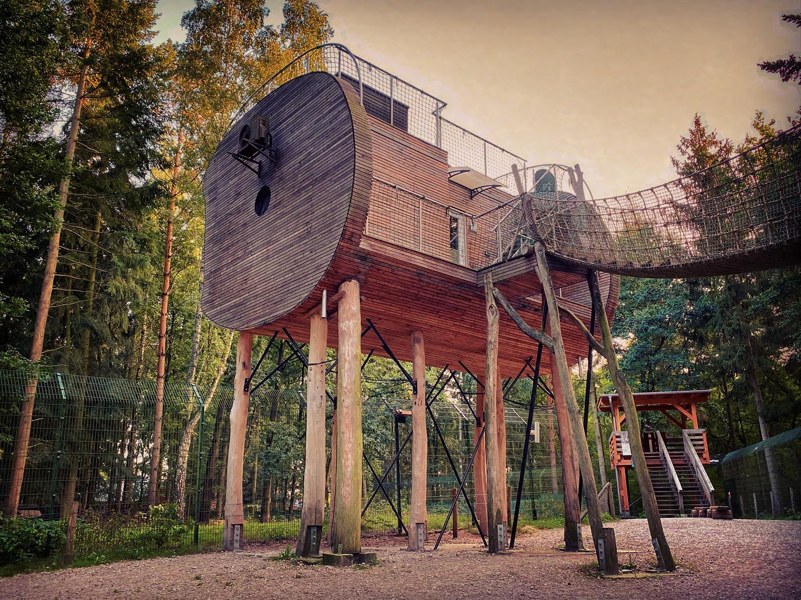 Glamping der besonderen Art: Das Tree Inn ist ein besonderes für Camper, die es komfortabel mögen