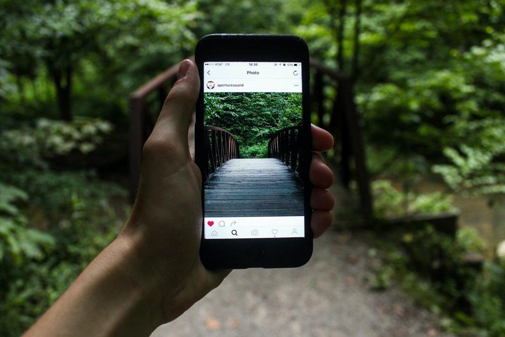 Das soziale Netzwerk Instagram war schon vor dem Lockdown ein Fenster zur Welt