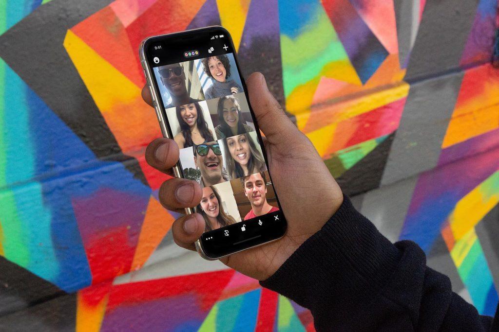 Soziale Kontakte auf dem Handy