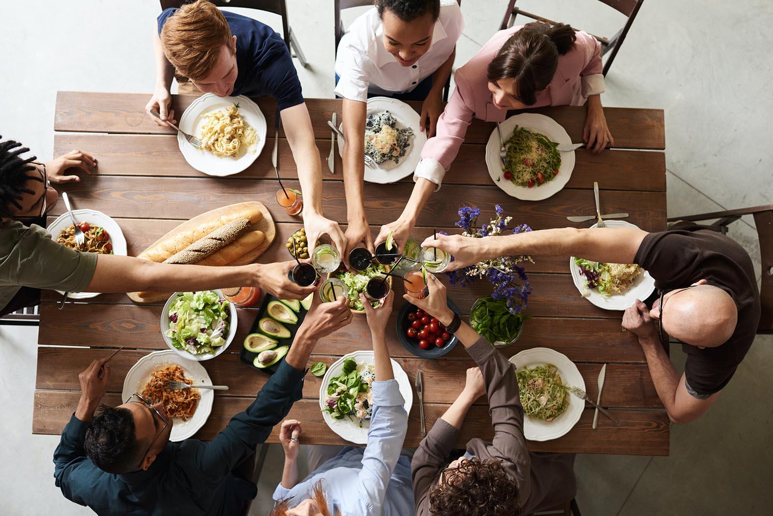 gemeinsam Kochen und Essen