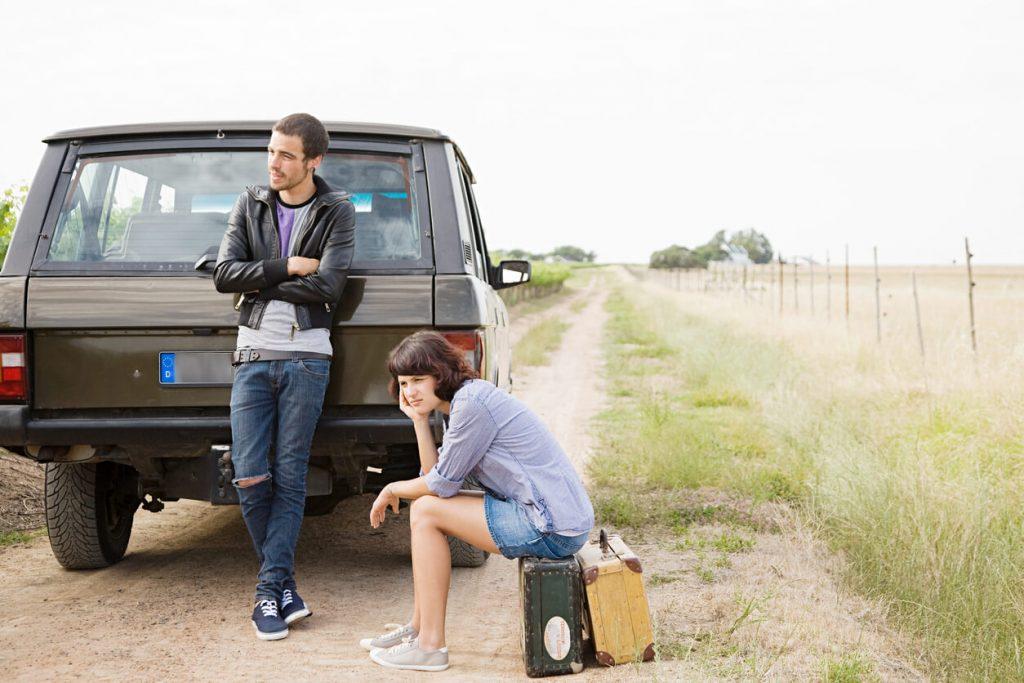 Hilfe bei einer Autopanne