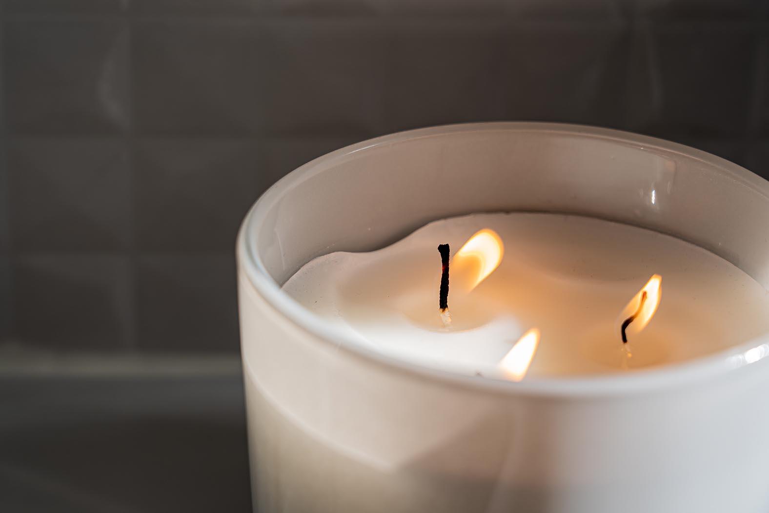 Kerzen wärmen Dich auch in der wohnung