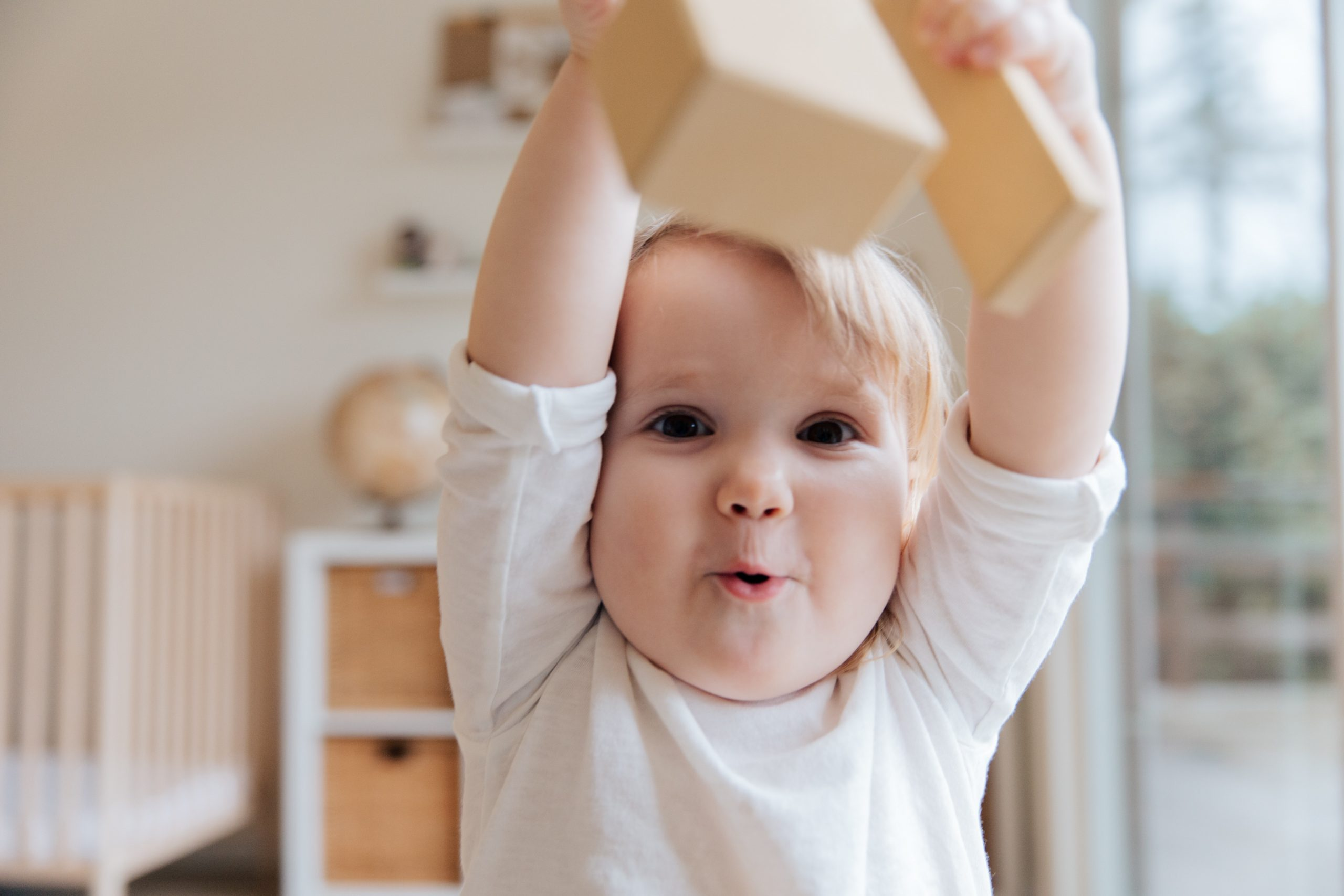 Bei der Familienplanung nicht vergessen dass ein fröhliches Kleinkind entdecken will
