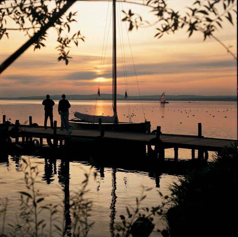 Abendstimmung am Steinhuder Meer