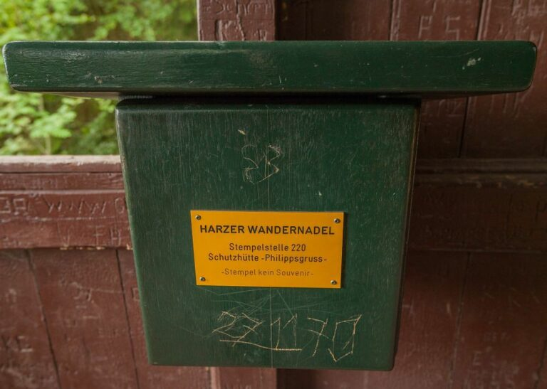 Harzer Wandernadel durch Wandern in den Naturschutzgebieten sammeln