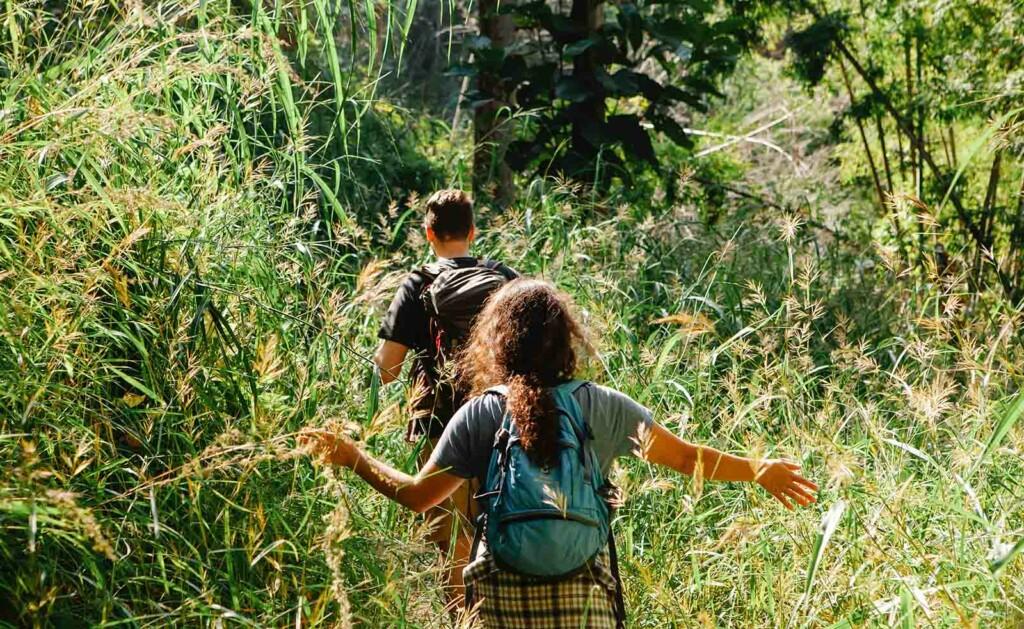 Geocaching mit Kindern in der Natur