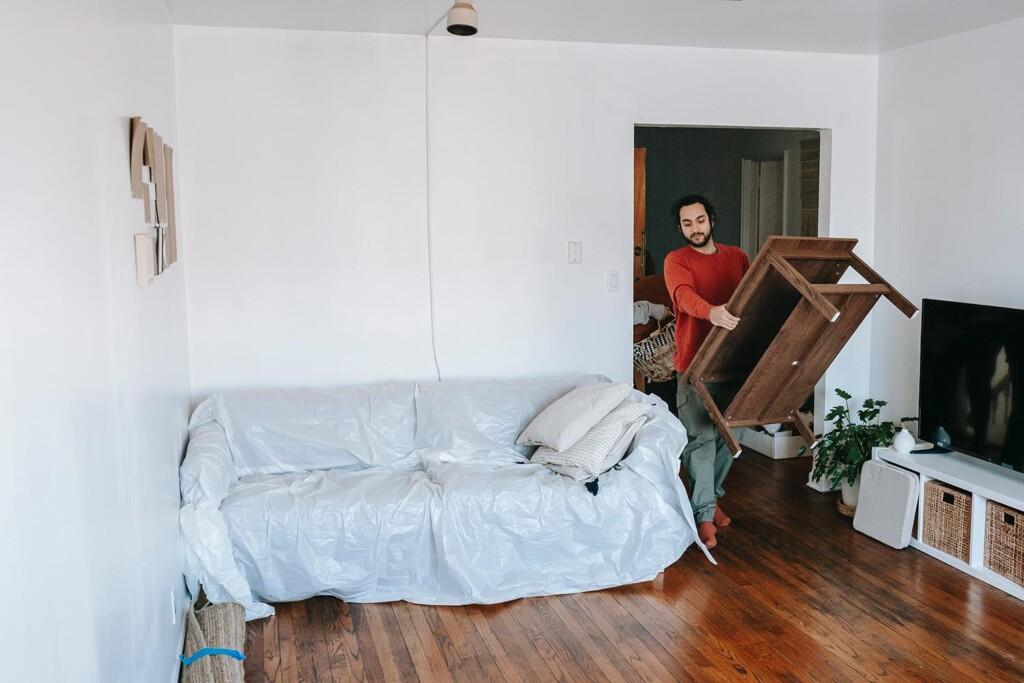 nach dem Auseinanderziehen die Wohnung neu einrichten