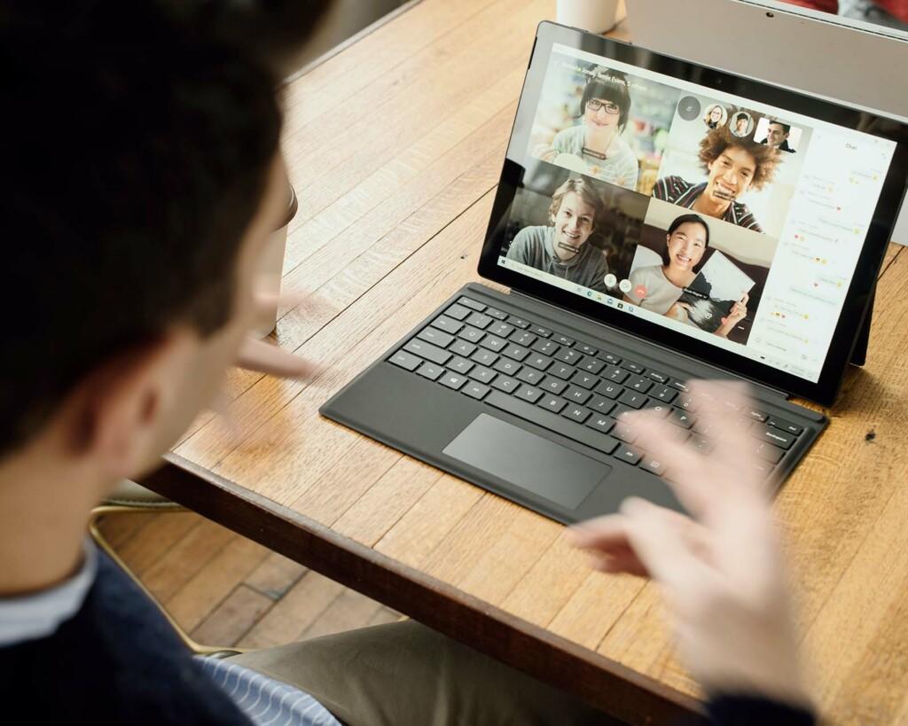 virtuelles lernen am pc