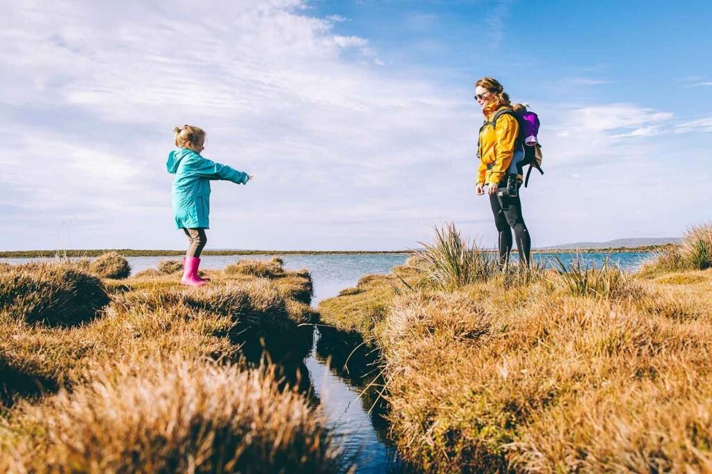 Mutter und Kind in der Mutter Kind Klink an der Ostsee
