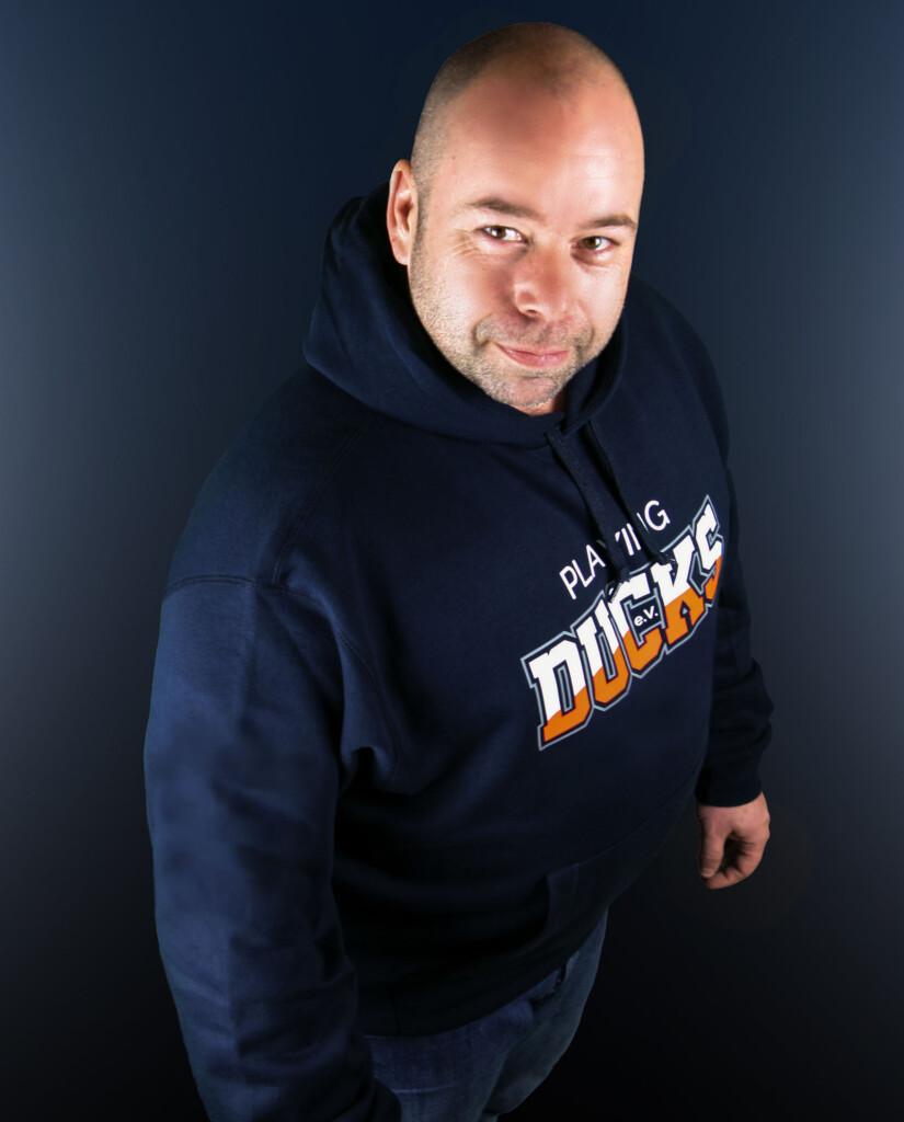 Thorsten Mohr Vereinschef von den Playing Ducks