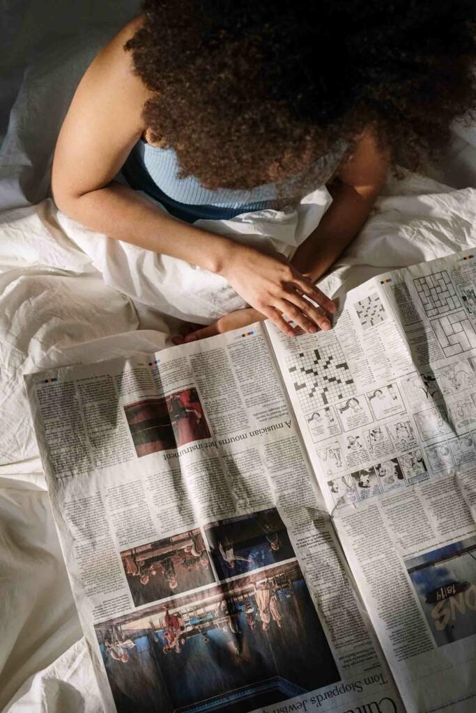 Wohnungsanzeigen in der Zeitung finden