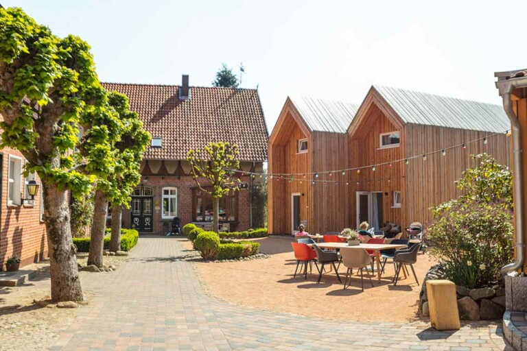 Landhaus Averbeck Hofansicht